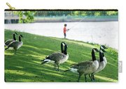 Fishing With The Geese Carry-all Pouch