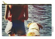 Fishing With The Pup Carry-all Pouch