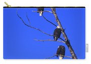 Five Bald Eagles Carry-all Pouch