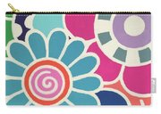 Five Blooms Carry-all Pouch