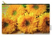 Five Exotic Sunflowers Carry-all Pouch
