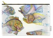 Five Fading Fish Carry-all Pouch
