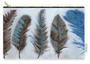 Five Feathers Carry-all Pouch