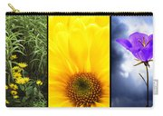 Five Flower Composite Carry-all Pouch