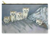 Five Kitties Carry-all Pouch