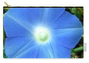 Five Point Star Morning Glory  Carry-all Pouch