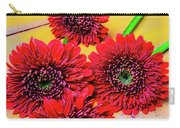 Five Red Dasies Carry-all Pouch