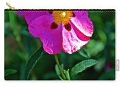 Orchid Rock Rose At Pilgrim Place In Claremont-california  Carry-all Pouch