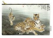 Five Tigers Carry-all Pouch