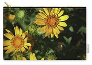 Five Yellow Flowers  Carry-all Pouch