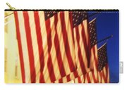 Flag Congress Hall Cape May Nj Carry-all Pouch