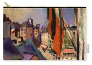 Flag Decorated Street 1906 Carry-all Pouch
