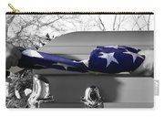 Flag For The Fallen - Selective Color Carry-all Pouch