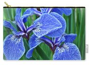 Flag Iris Blues Carry-all Pouch