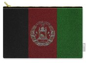 Flag Of Afghanistan Carry-all Pouch