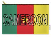 Flag Of Cameroon Word. Carry-all Pouch