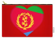Flag Of  Eritrea Heart Carry-all Pouch