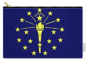Flag Of Indiana Carry-all Pouch