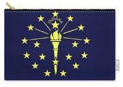 Flag Of Indiana Wall Carry-all Pouch