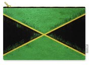 Flag Of Jamaica Grunge Carry-all Pouch