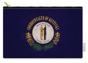 Flag Of Kentucky Grunge Carry-all Pouch