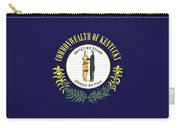 Flag Of Kentucky Wall Carry-all Pouch