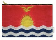 Flag Of Kiribati Texture Carry-all Pouch
