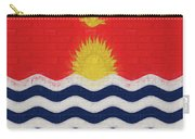 Flag Of Kiribati Wall Carry-all Pouch