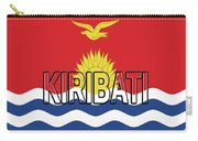 Flag Of Kiribati Word Carry-all Pouch