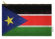 Flag Of  South Sudan Grunge Carry-all Pouch