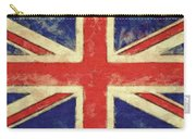 Flag Of The United Kingdom Carry-all Pouch by Michelle Calkins