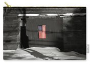 Flag On A Wentworth Barn  Carry-all Pouch