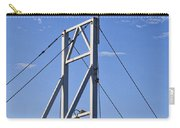Flag On Perkins Cove Bridge - Maine Carry-all Pouch