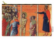 Flagellation Of Christ 1311 Carry-all Pouch