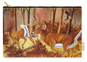 Flagging Deer Carry-all Pouch