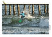Flagler Beach Surf Day Carry-all Pouch