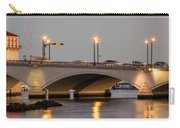 Flagler Bridge In Lights Iv Carry-all Pouch