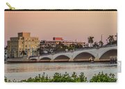 Flagler Bridge In The Evening I Carry-all Pouch