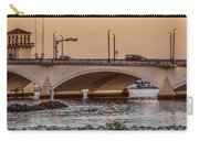 Flagler Bridge In The Evening IIi Carry-all Pouch