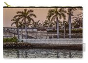 Flagler Bridge In The Evening V Carry-all Pouch