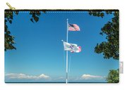 Flags On The Shoreline Carry-all Pouch