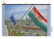Flags Over Budapest Carry-all Pouch