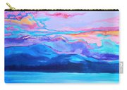 Flagstaff Lake Winter Sunset Carry-all Pouch