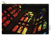 Flamboyant Stained Glass Window Carry-all Pouch