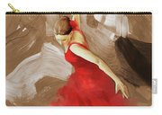 Flamenco Dance Women 02 Carry-all Pouch