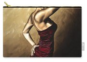 Flamenco Woman Carry-all Pouch