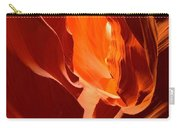 Flames In The Walls Of Antelope Carry-all Pouch