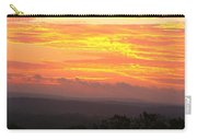 Flaming Autumn Sunrise Carry-all Pouch
