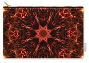 Flaming Catherine Wheel Carry-all Pouch