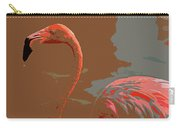 Flaming Flamingo-d  Carry-all Pouch